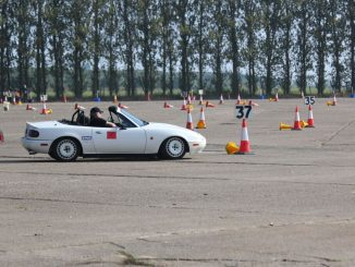 A typical Autosolo course. Run by Oxford MC