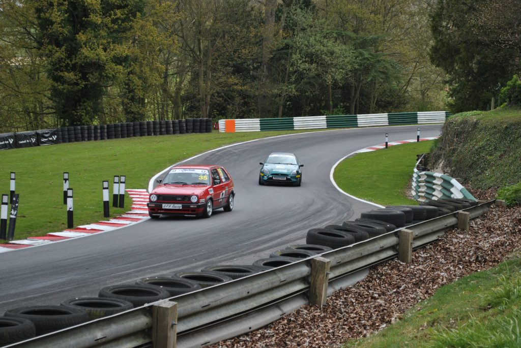 Trackday Trophy racing at Cadwell Park