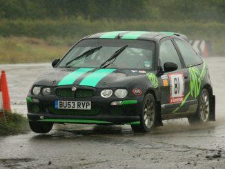 mg zr rally car abingdon carnival